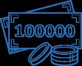 Комплект на бюджет до 100 000 рублей