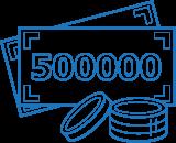 Комплект на бюджет до 500 000 рублей