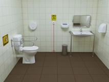 Жилой модуль «Санитарная комната»