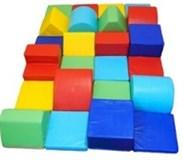 Мягкие модули для игровых комнат