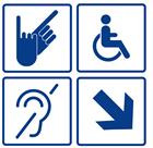 Адаптируете организацию по программе «Доступная среда»? Вам необходимо обратить внимание на эту информацию! С 1 июля 2020 г. действует НОВЫЙ ГОСТ Р 52131-2019 «Средства отображения информации знаковые для инвалидов».