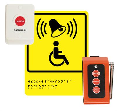 Беспроводная кнопка вызова помощи А310 - фото 14092