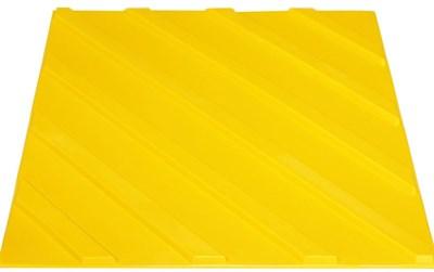 Плитка тактильная для помещений (ПВХ, 300х300 мм, диагональные рифы) - фото 4780