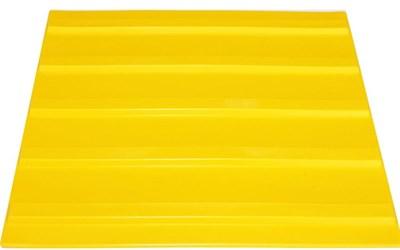 Плитка тактильная для помещений (ПВХ, 300х300 мм, продольные полосы) - фото 4783