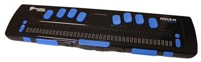Портативный дисплей Брайля Focus 40 Blue с беспроводной технологией Bluetooth - фото 6218