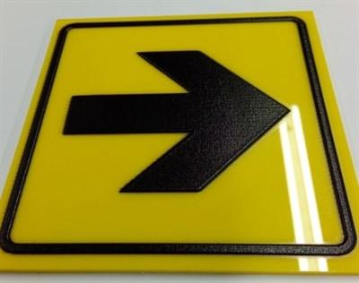Тактильный знак пиктограмма СП 150х150 - фото 6445