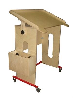 Подкатная стол-парта - фото 7040