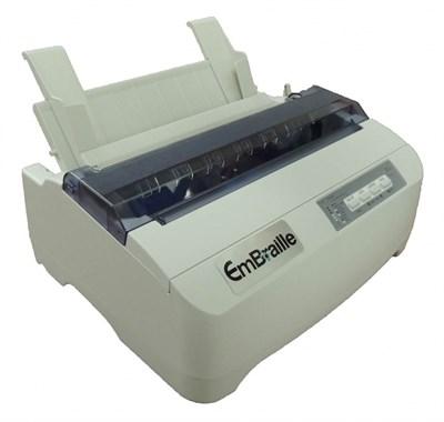 Принтер для печати рельефно-точечным шрифтом Брайля VP EmBraille - фото 7151