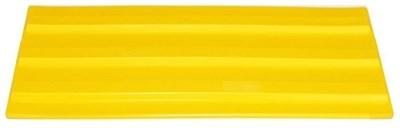 Плитка тактильная для помещений (ПВХ, 500х150х5 мм,  три продольные полосы) - фото 8311