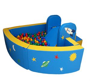 Сухой бассейн угловой «Космос»