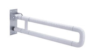 Поручень U-образный опорный откидной 62х13,5 см DK3907
