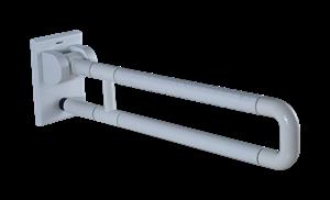Поручень U-образный опорный откидной 70х13,5 см DK3909