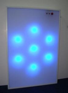 Интерактивная светозвуковая панель Вращающиеся огни