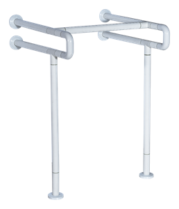 Поручень для раковины настенный с доп. креплением к полу DK3914