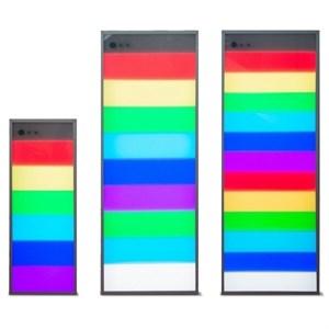 Интерактивная светозвуковая панель Лестница света 9 ячеек