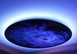 Подвесной фибероптический модуль «Галактика» 120х120