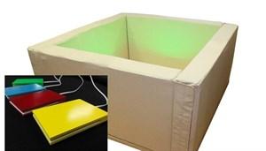 Вибромузыкальный сухой бассейн с клавишами управления. 217х217х66 см.