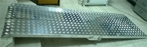 Пандус-рампа складная книжкой 4-секционная (183 см)
