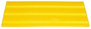 Тактильная плитка для помещений (ПВХ, 500х150х5 мм,  три продольные полосы)