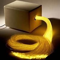 Мягкий кубик с пучком волокон в оболочке и источником света (100шт.)
