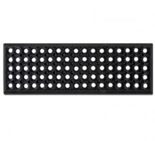 Резиновая накладка (черная, ячеистая) 750х250мм