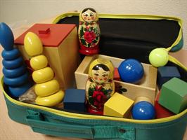 Методика исследования интеллекта ребенка ( чемодан Стребелевой Е.А.) комплект №1 для возраста 2-3 года