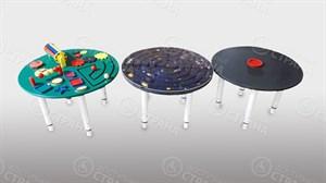 Набор  дидактических столов («Занятный», «Космический», «Меловой»)