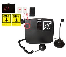 """Комплект: индукционная система """"Альфа А1"""" + система вызова помощи АРЕ510.2ш"""