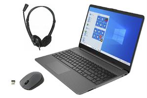 """Комплект: Ноутбук универсальный 15.6"""" с гарнитурой и мышью"""
