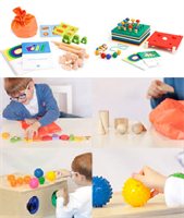 «Сенсорика». Набор методических материалов для развития и коррекции восприятия  детей дошкольного и младшего школьного возраста.