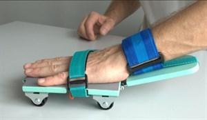 Тренажер для разработки кисти и локтевого сустава