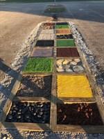 Дорожка для ходьбы с песком 3х1м