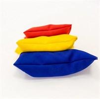 3 весовых мешочка с крупой (разный вес)