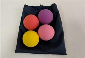 Набор кинезиологических мячей в мешочке (4 шт.)