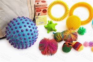 Комплект терапевтических мячиков ИА15848-2