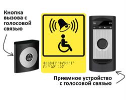 Система вызова помощи с двусторонней голосовой связью для входной группы А610