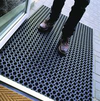 Резиновый коврик грязезащитный 800x1200х16мм
