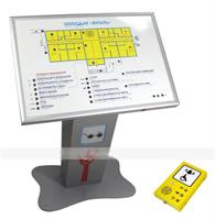 Тактильно-звуковая мнемосхема и устройство активации с речевым подтверждением