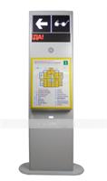 Мнемосхема тактильно-звуковая с текстовым табло 2191x900x340 мм