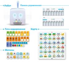 Детский набор для программирования Mojobot: дополнительный комплект ( Дополнительная управляющая консоль + тэги для кодирования)
