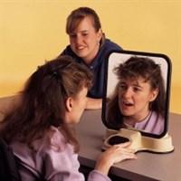 Говорящее логопедическое зеркало (60 секунд записи)