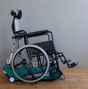 Универсальный гусеничный подъёмник для инвалидов БАРС Comfort с платформой с пандусом