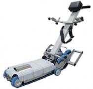 Лестничный гусеничный подъемник для инвалидов на колясках БК С100 с платформой