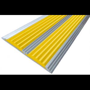 Алюминиевая полоса с 2-мя резиновыми вставками