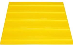 Плитка тактильная для помещений (ПВХ, 300х300 мм, продольные полосы)
