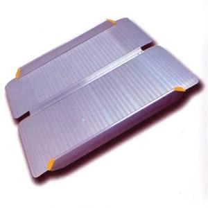 Пандус складной, рампа складная 2-секционная MR 407-6' (70х183см.)