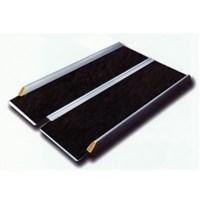 Пандус рампа складная книжкой 2-секционная MR 707 с черным покрытием