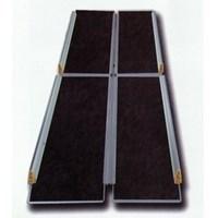 Пандус рампа складная книжкой 4-секционная MR 707Т с черным покрытием