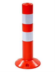 Парковочный столбик стационарный гибкий СДГ-480