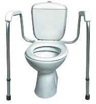 Поручень опорный для унитазов для инвалидов KR46